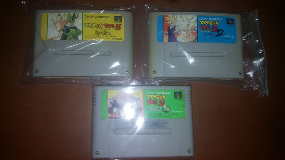 Dragon Ball Super Butoden Trilogia Original Snes