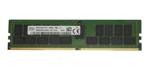 Memória 32gb 2rx4 Pc4-2666v-rb2-12 Sk Hynix- C/ Nf - Dell Hp