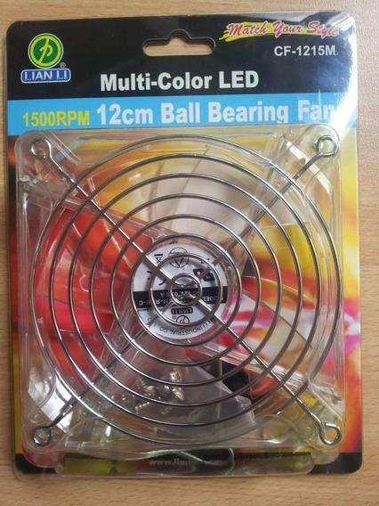 Cooler Fan Pc Multicolor Led Lian Li 1500rpm Ruleman