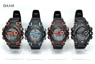 Reloj Digital Sumergible 30m Dia Del Padre Oferta! Garantia.