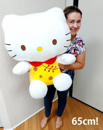 Hello Kitty Grande Pelúcia Gigante 65cm X 50cm Frete Grátis