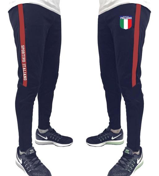 Pantalon Chupin Sportivo Italiano Con Tira Lateral