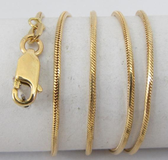 5021 Corrente Curta 40 Cm De Ouro 18k 750