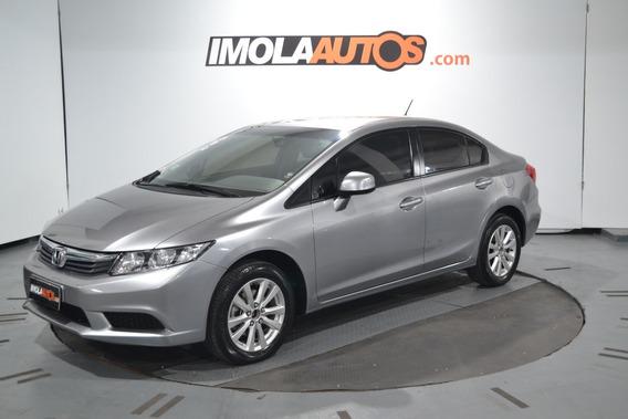Honda Civic 1.8 Lxs A/t 2013 -imolaautos-