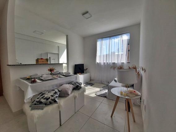 Ótimo Apartamento 2 Quartos 1 Vaga De Garagem No Ouro Preto - 960