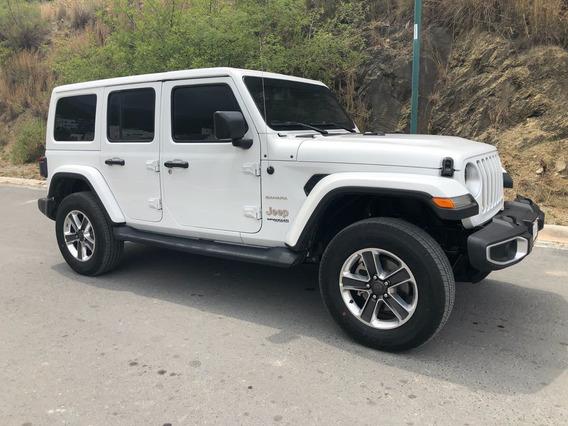 Blindado Jeep Wrangler Sahara 4x4 2018 Blindaje Nivel 4 Bt