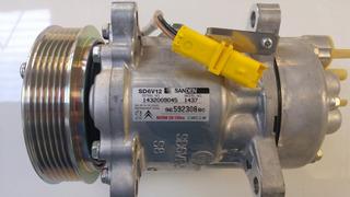 Compresor Aire Acondicionado Sanden Peugeot 206 307 Nuevo