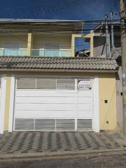 Sobrado Residencial À Venda, Vila Maranduba, Guarulhos. - So0296