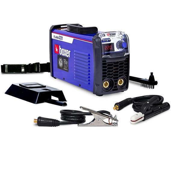 Máquina De Solda Inversora 220a Eletrodo Flama221 Boxer 2