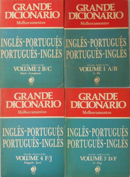 Grande Dicionário Melhoramentos Ingles Portugues 18 Fascícul