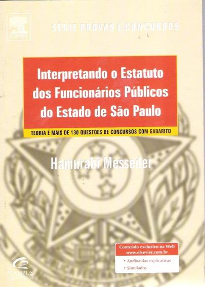 Interpretando O Estatuto Dos Funcionários Públicos São Paulo
