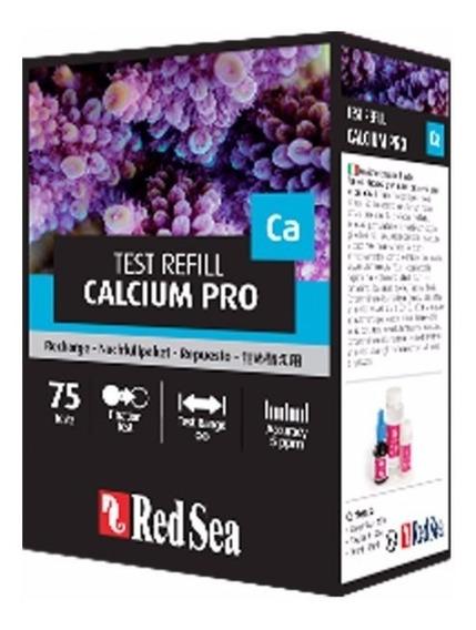Refil Teste De Cálcio Pro Red Sea