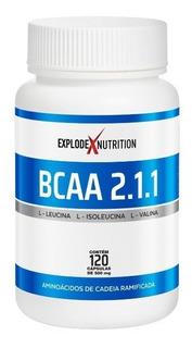 6 Bcaa 2.1.1 720 Caps Cada (120 Caps Cada)explode Nutrition