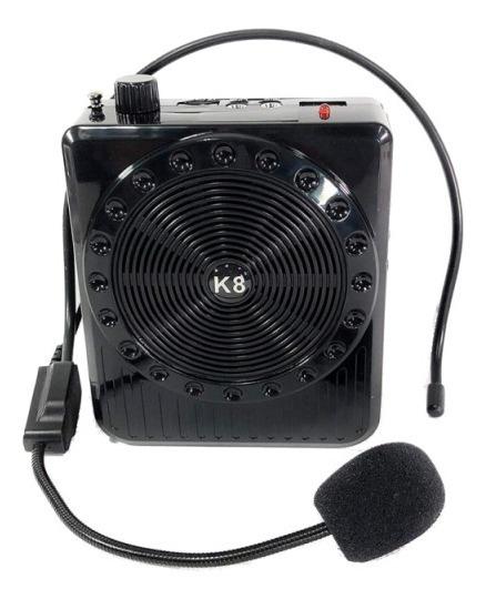Caixa Som Amplificada Portatil K150 Multi Function Megaphone
