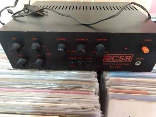 Mixer Rotativo  Csr - Mx-2001