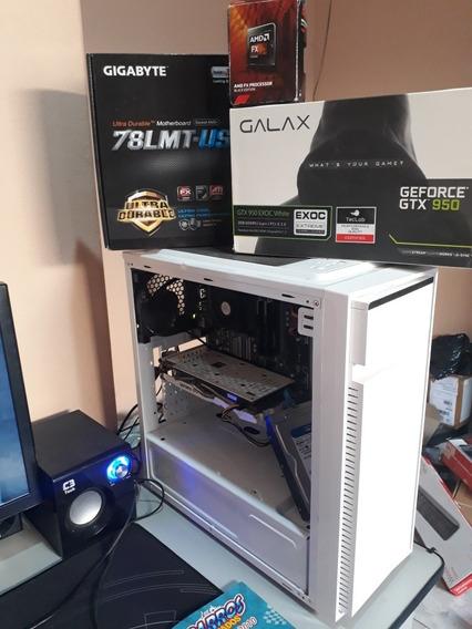 Pc Gamer Amd 8gb Hd 1tb Gtx 950 2gb Gddr5
