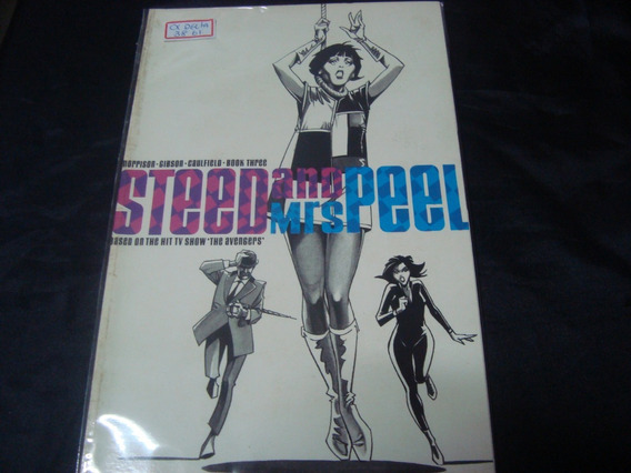 Cx Delta 38 61 Steed And Mrs Peel Nº 03 Ingles