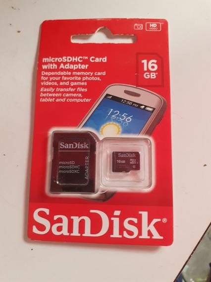 Cartao De Memoria Sandisk 16 Gb