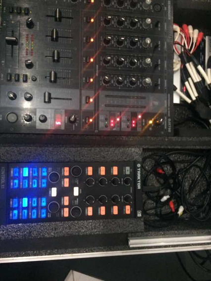 Control X1 , Placa Áudio 8 , Mixer Djx 750 + Case.