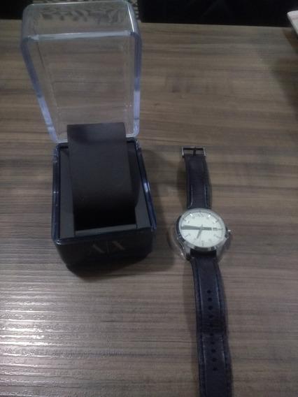 Relógio Masculino Armani Exchange Ax2100 - Marrom/prata