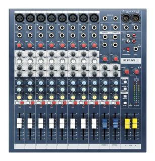 Consola Soundcraft Epm8 12 Entradas Mixer Profesional Rack