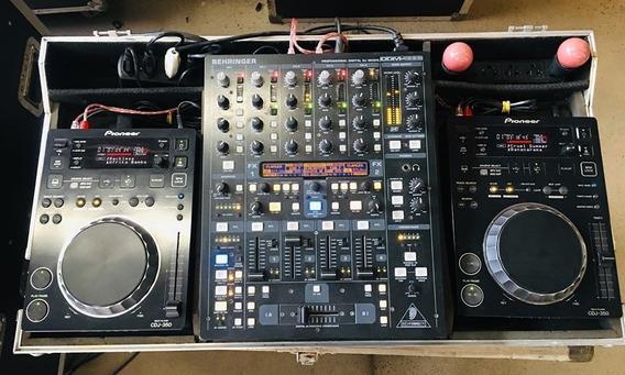 Pioneer 02 X Cdj 350 + Ddm4000 + Case - 12 X Sem Juros