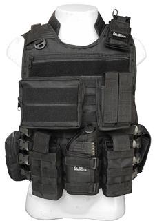 Capa De Colete Tático Modular + 8 Peças Policial Airsoft