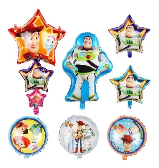 9 Globos Toy Story 4