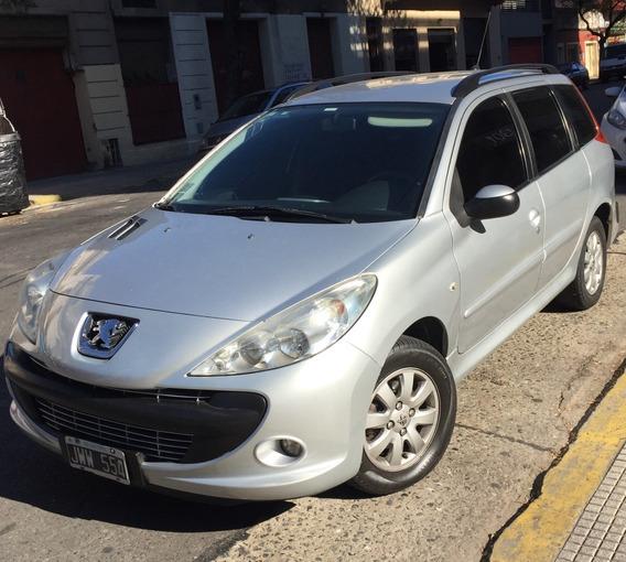 Peugeot 207 Sw Unico Dueño, Titular, Ni Un Rayón, Vtv 06/20