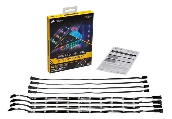 Kit Strip Expansão Fita Led Rgb Corsairlighting Pro Corsair
