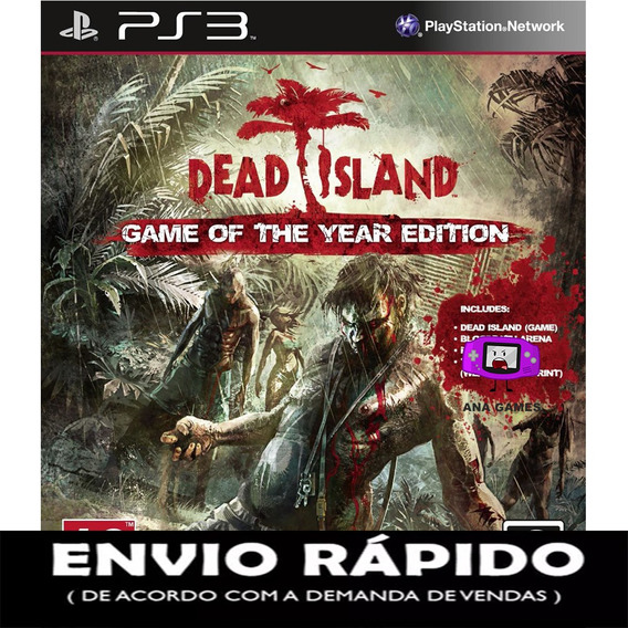 Dead Island Game Of The Year Edition Ps3 - Jogo Digital