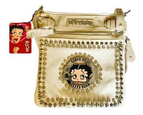 Imagen 1 de 3 de Betty Boop Vintage Bolso Bandolera Cruzada Mochila De Mano