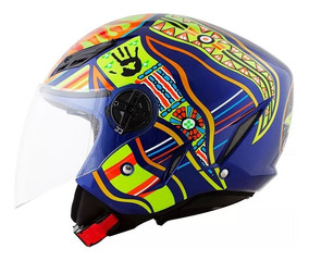 Capacete Aberto Agv Blade Five 5 Continents
