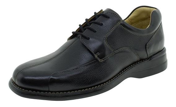 Sapato Masculino Social Democrata - 215038 Preto