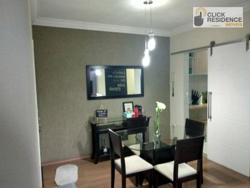 Imagem 1 de 13 de Apartamento 2 Dormitórios ( Local Nobre )  À Venda De 56,00 M² Por R$ 297.000 - Centro - São Bernardo Do Campo/sp - Ap0694