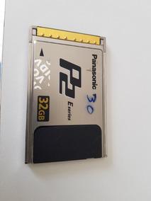 Cartao Memoria P/ Filmadora Panasonic Tipo P2 32gb