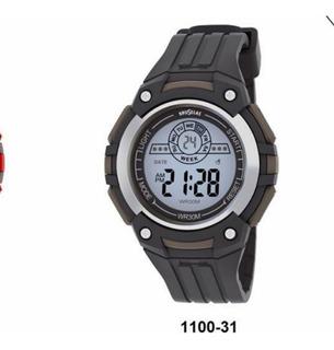 Reloj Digital Sumergible Hombre O Adolescente 1100-31