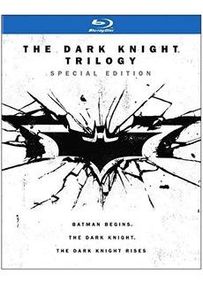 Blu-ray: Batman- The Dark Knight Trilogy (special Edition)