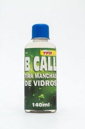 B Call - Removedor De Chuva Acida - Vidros