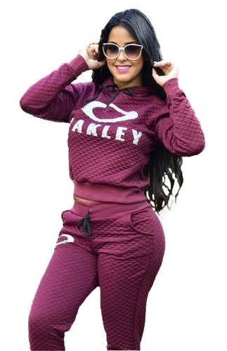 d184045f5 Moleton Oakley Feminino Rosa - Calçados, Roupas e Bolsas no Mercado ...