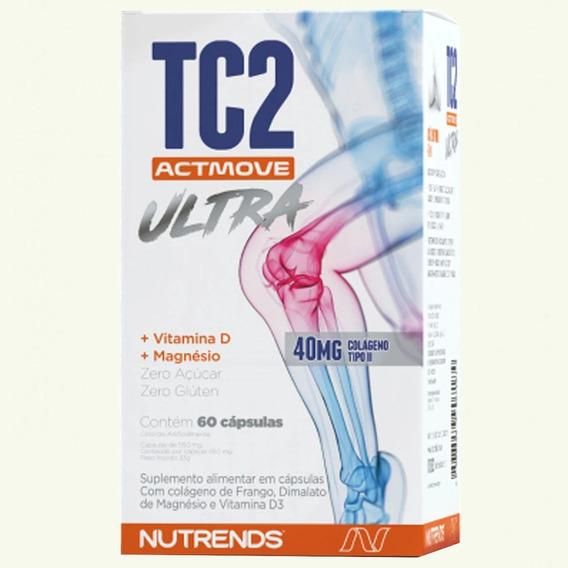 Colágeno Tipo 2 Tc2 Ultra Actmove - Nutrends - Dores Joelho