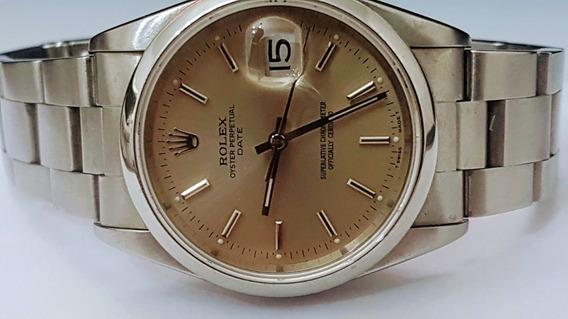 Rolex Date 34 Mm Zerado.