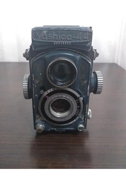 Máquina Yashica 44 (1958) - Nikon Canon Polaroid Pentax Jvc