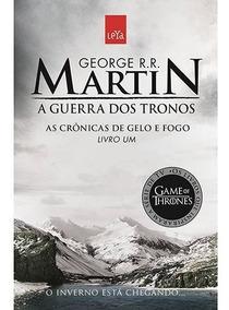 Livro Guerra Dos Tronos - Crônicas De Gelo E Fogo Volume 1