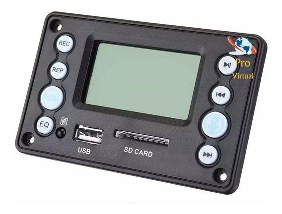 Placa Decodificador Mp3 Lcd /usb/sd/bluetooth/+top Do M.l