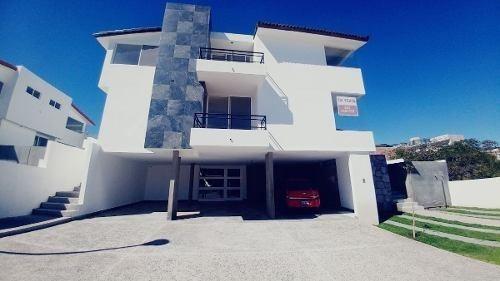 Hermosa Residencia En Vista Real Country Club, Cochera 8 Autos, Para Conocedores
