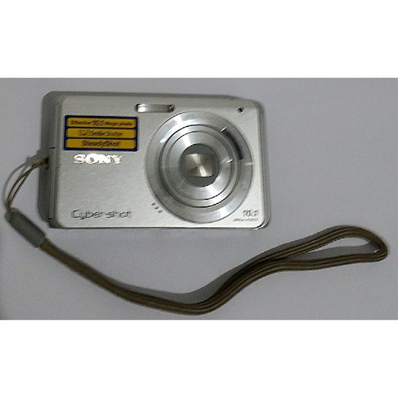 Câmera Sony Cyber Shot 10.1 Mega Pixels Dsc-w180 Usada