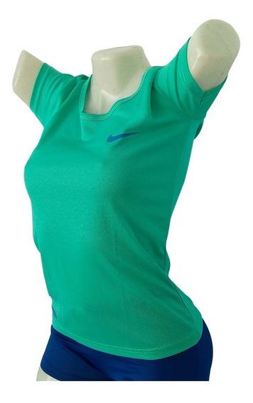 Camisa Franela Sueters Dama Estampado Nike Drifit Rabbitinv