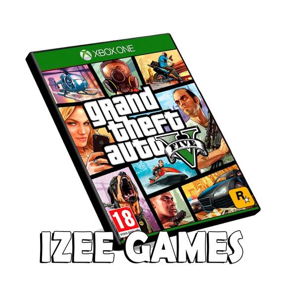 Gta 5 Xbox One Grand Theft Auto V Original Mídia Digital