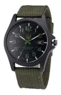 Reloj Militar Hombre, Analógico, Sumergible 200m, Tactico.
